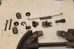 rouille système réglage frein tambour