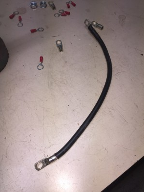 cables batterie auxilaire