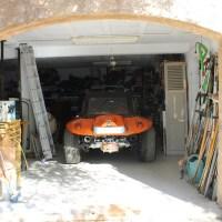 Buggy orange : mécanisme d'embrayage 180 mm butée guidée