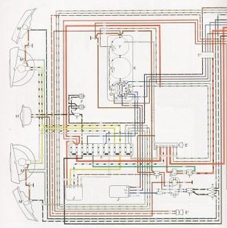 schéma électrique t2 1970