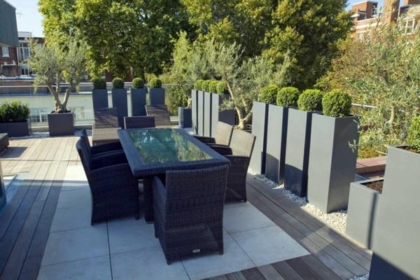 Come arredare una terrazza panoramica flat design for Arredare la terrazza
