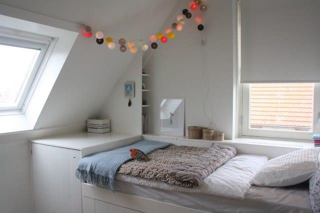2 letto a muro arredare mansarda