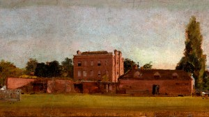 Painting of East Bergholt House by John Constable c1811
