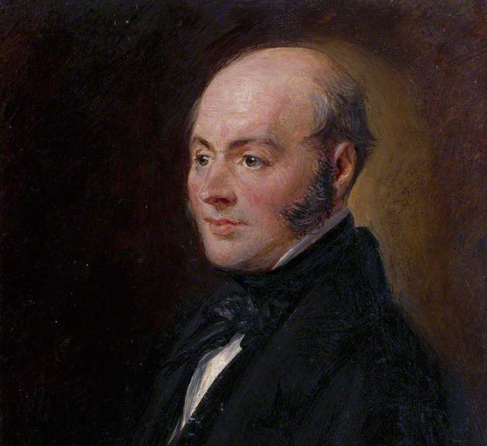 John Constable in later life by Charles Robert Lesilie 1831 - Royal Academy