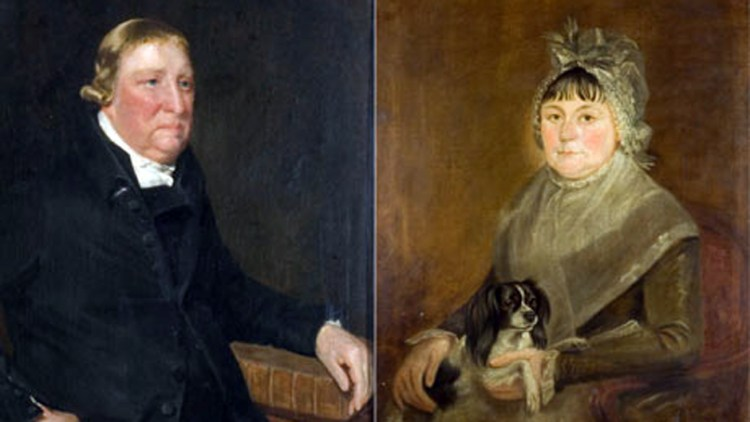 Portraits of John Constable's parents Golding and Anne
