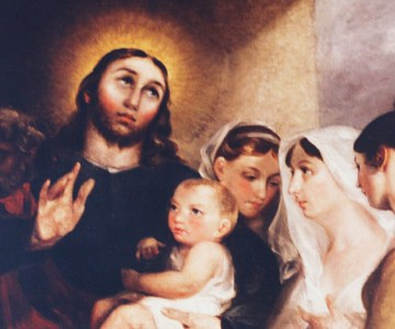 Suffer the Little Children by John Constable