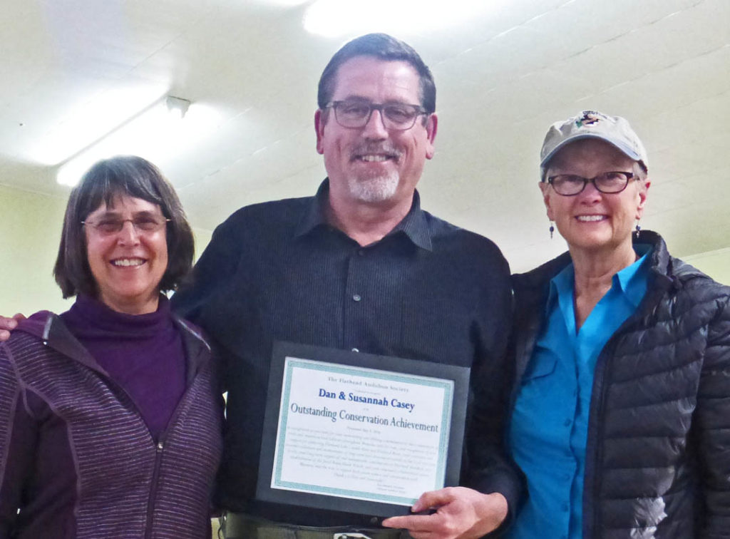 Gael presents Susannah & Dan Casey with Conservation Achievement Recognition - Photo Credit: John Winnie