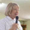President Kay Mitchell at 2016 Potluck - Photo Credit: Linda Winnie