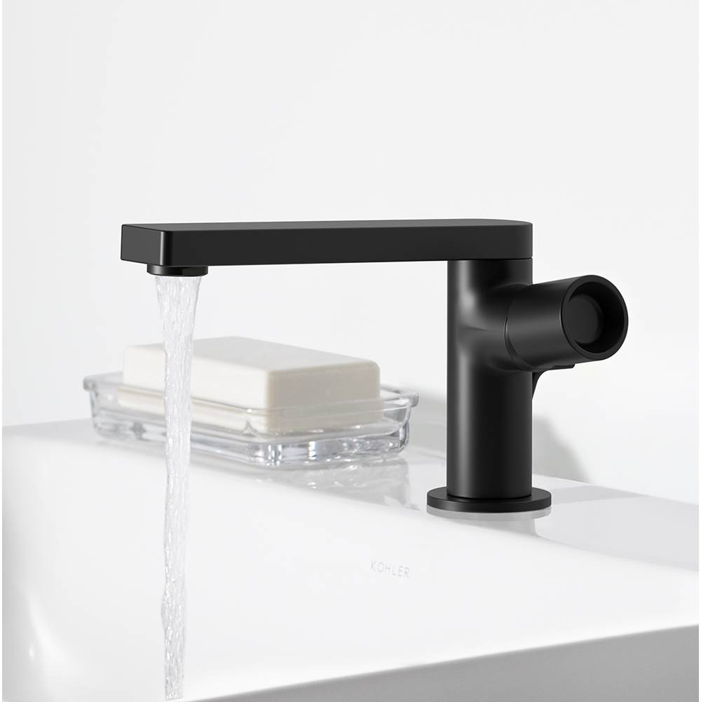 composed single handle bathroom sink faucet with pure handle