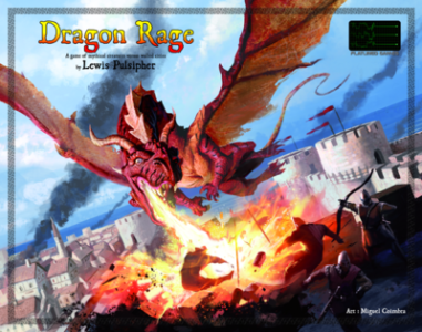 Dragon Rage   Flatlined Games Dragon Rage box cover Dragon Rage Game