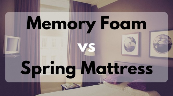 Memory Foam Vs Spring Mattress Comparison