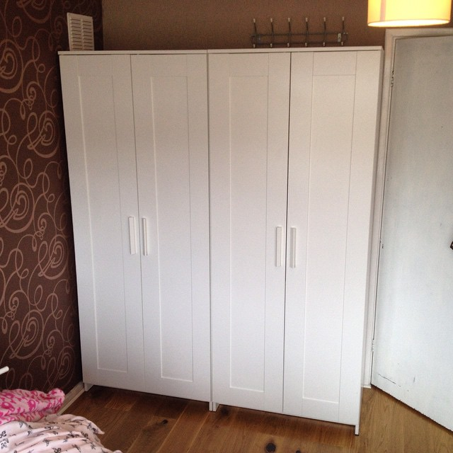 Ikea Pax wardrobe installation for a customer in Portslade, West Sussex.