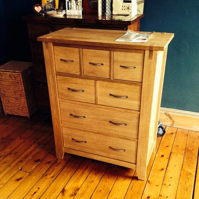 Next chest of drawers assembled for a client in Brighton.