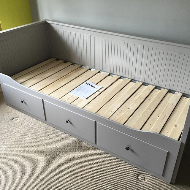 Ikea Hemnes Day Bed Assembly Brighton Flat Pack Dan