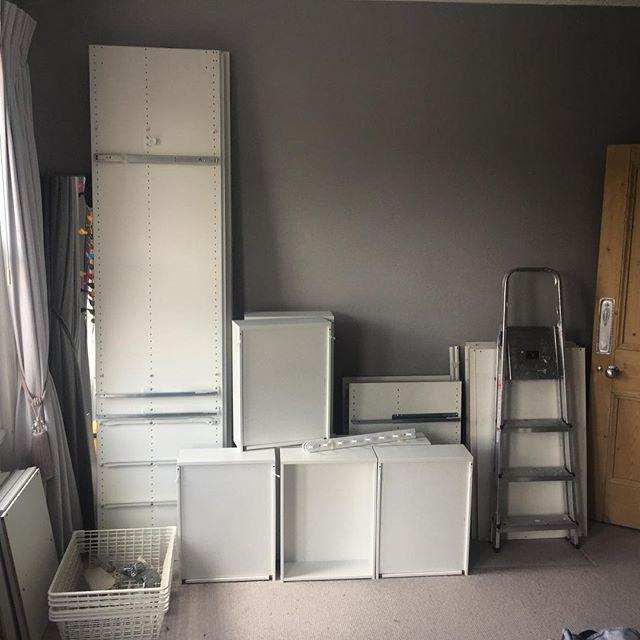 Ikea Pax Wardrobe Disassembly In Brighton Flat Pack Dan