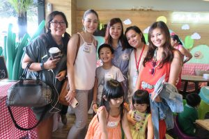 With Indy of shedreamsink, Lucien of Little Luli, Jane, Em of GameChanger, and photographer Sheila