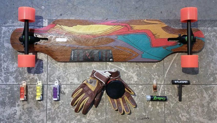 FlatspotDeckofTheDay: Loaded Icarus - Flatspot Longboard Shop