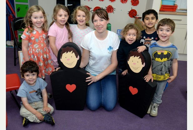 Cambridge junior first aid workshops give children 'life skills that build confidence'