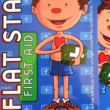 Braille Flat Stan First Aid Guide for Children