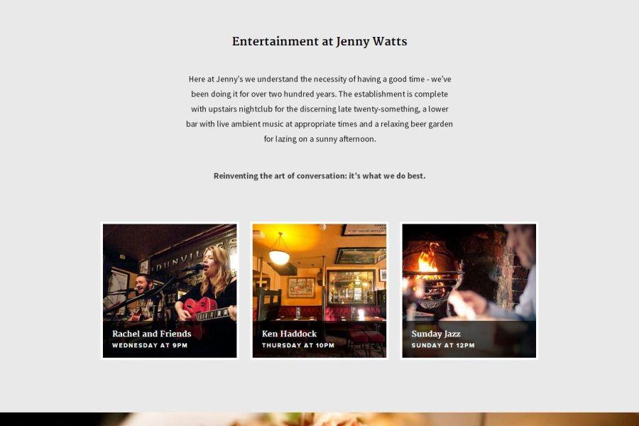 Jenny Watts Bar