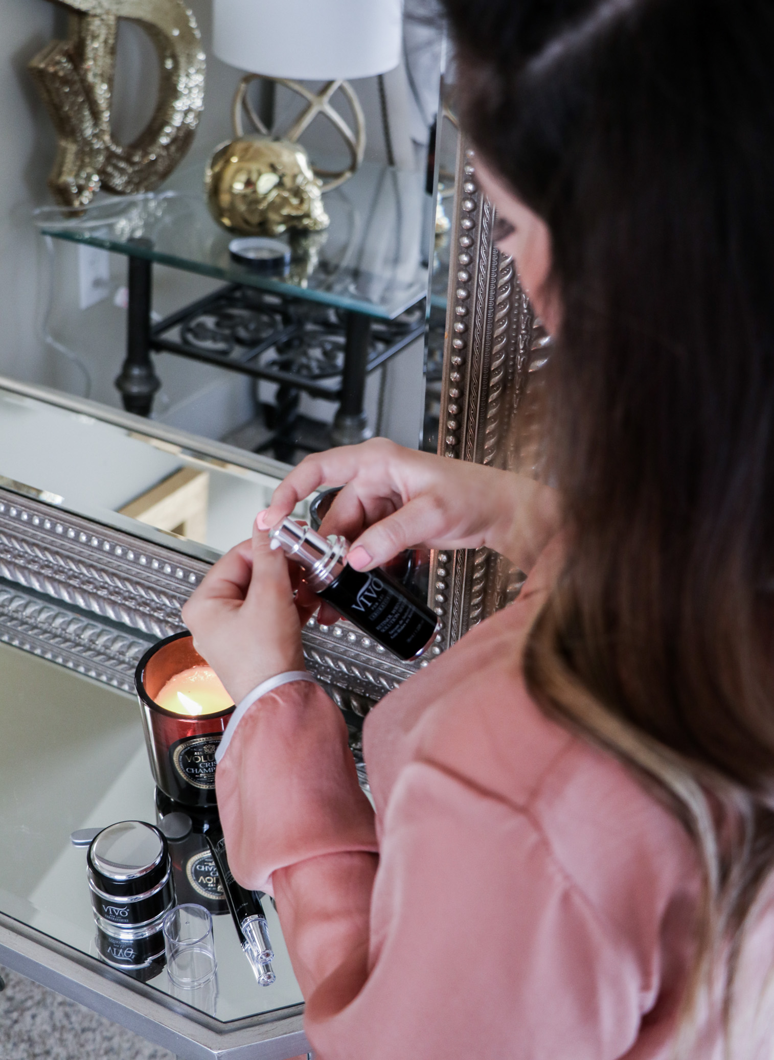 Houston fashion and lifestyle blogger Tiffany Jais doing a skincare review for Vivo Per Lei, click to read more   Beauty