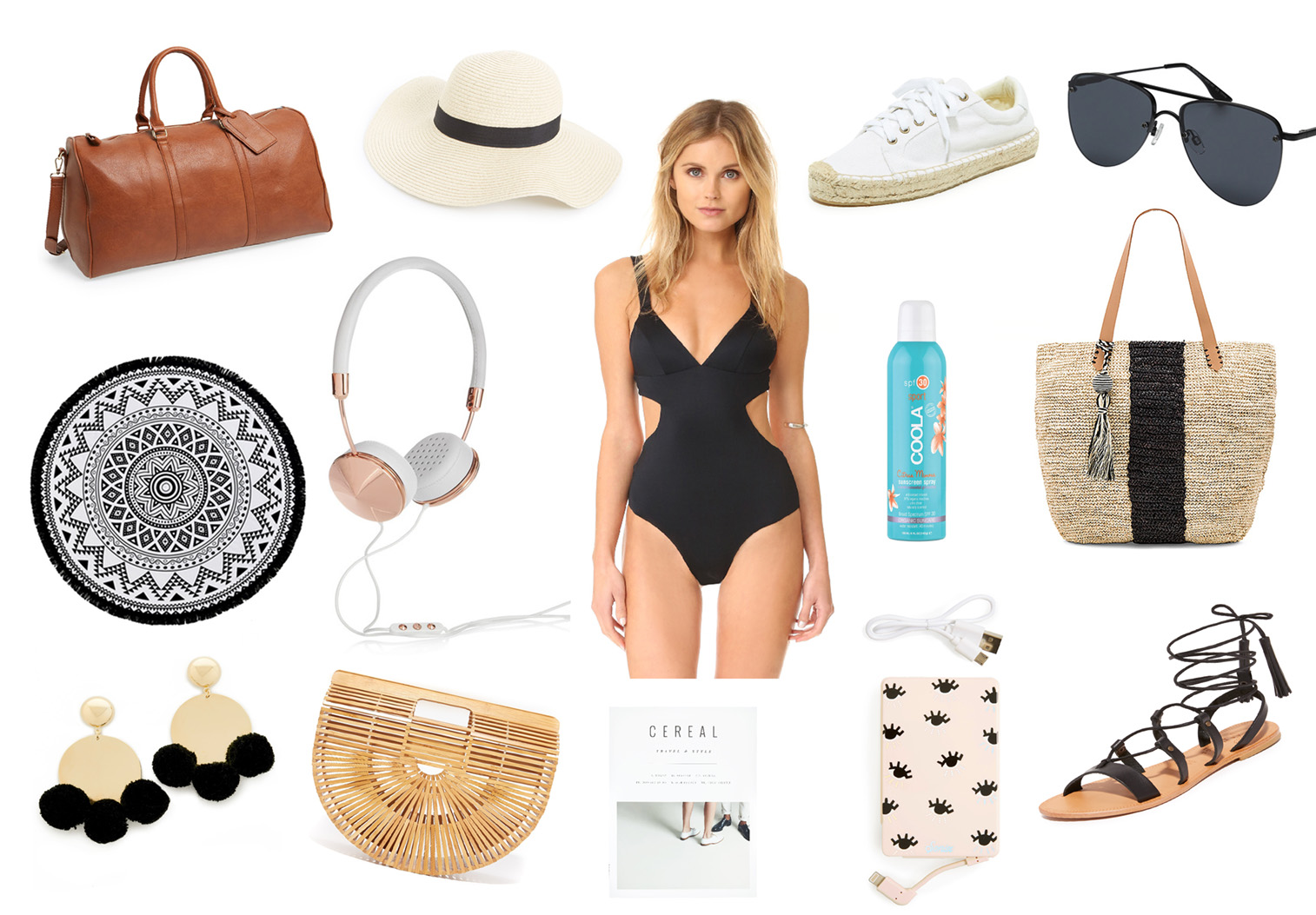 What to pack for Cabo San Lucas beach vacation, click through to shop everything! | beach, packing tips, vacation,