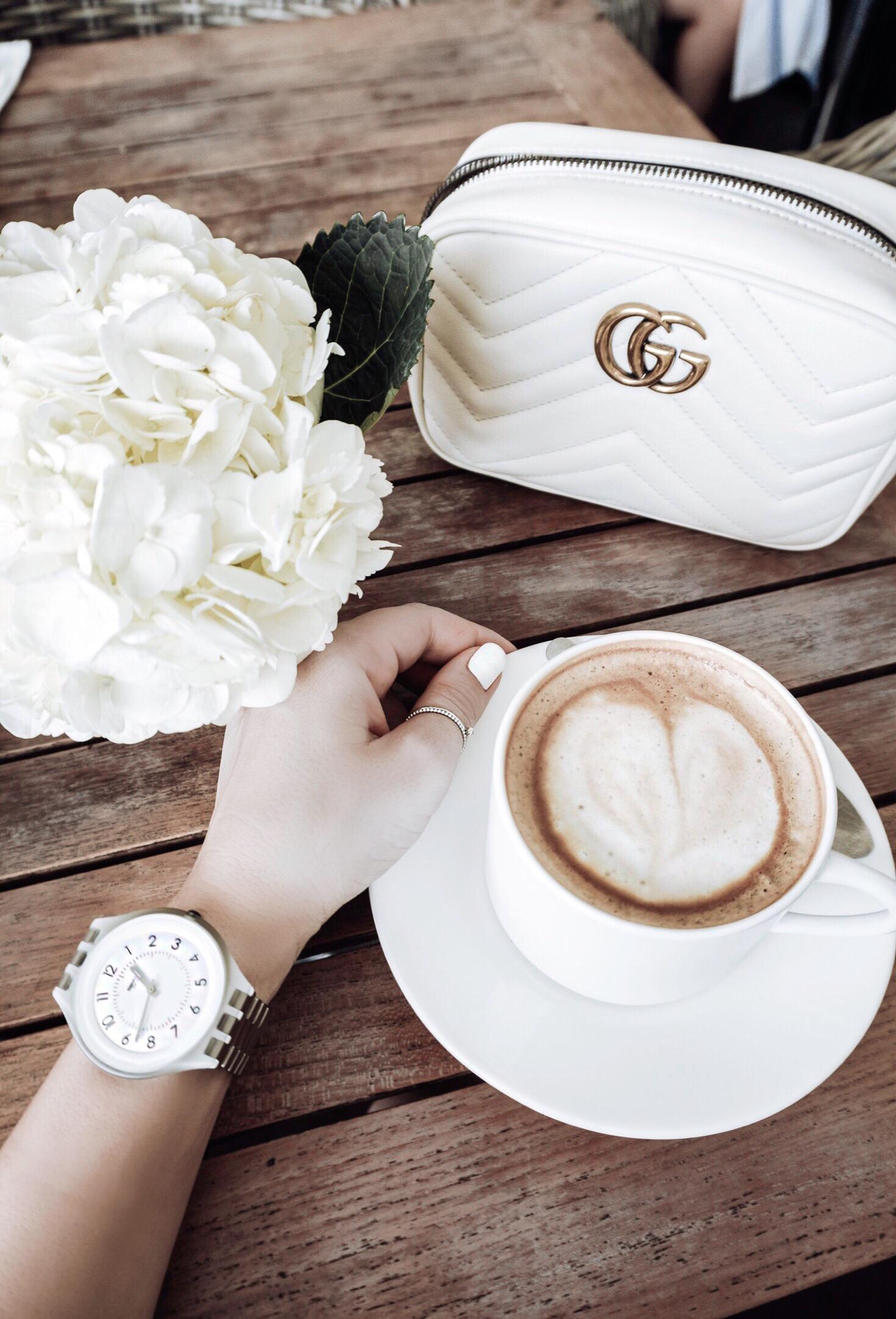 Tiffany Jais Houston fashion and lifestyle blogger of Flaunt and Center   Houston fashion blogger 2017 summer fashion trends   Coffee flatlay, flatlay