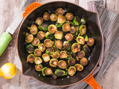 How to make crispy Brussels sprouts