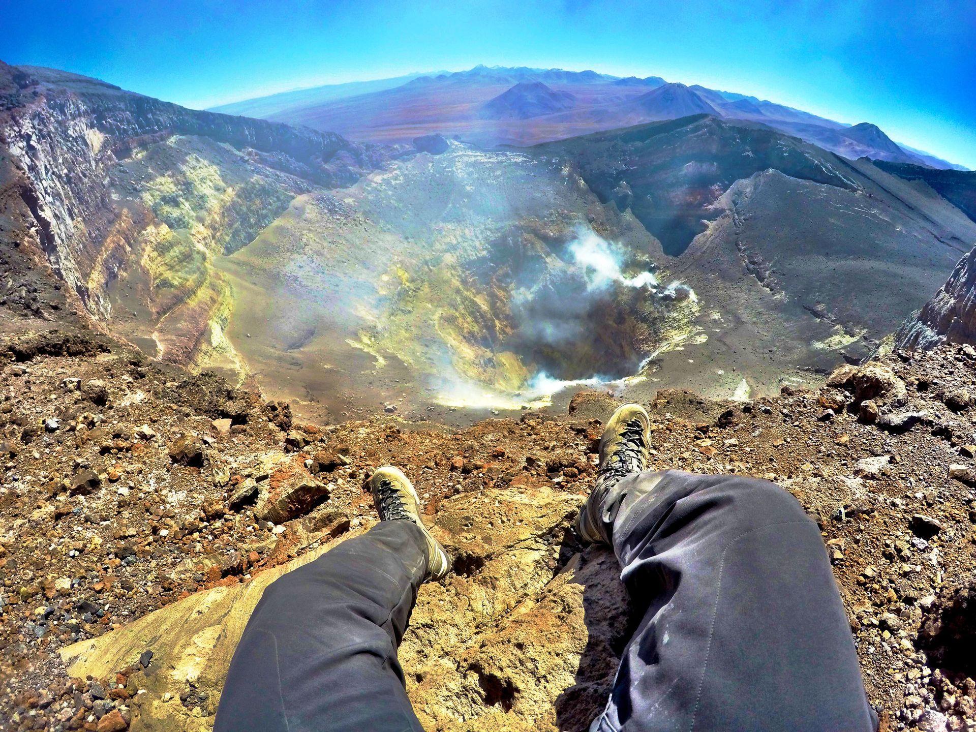 Vulcão Lascar - FlaviaBiaExpediciones