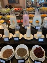 Iogurtes e cereais