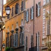 Rome - Windows of Rione Ponte