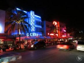 Ocean Drive in South Beach, Miami