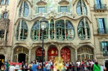 Casa Batlló – another awesome example of modernismo català, a masterpiece by Gaudí
