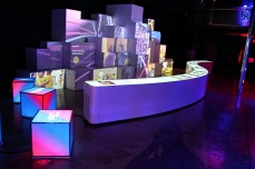 Unicef room at the museum of FC Barcelona
