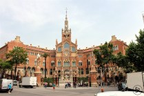 Hospital de Sant Pau – Another building of era of modernisme