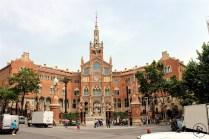 Hospital de Sant Pau – Another building of era of modernisme