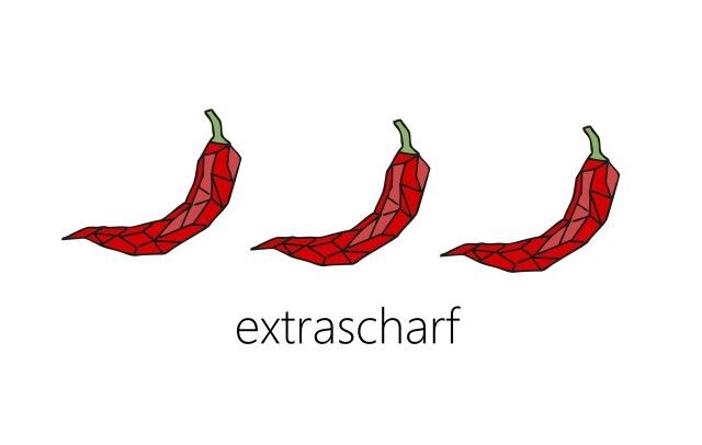Chili extrascharf