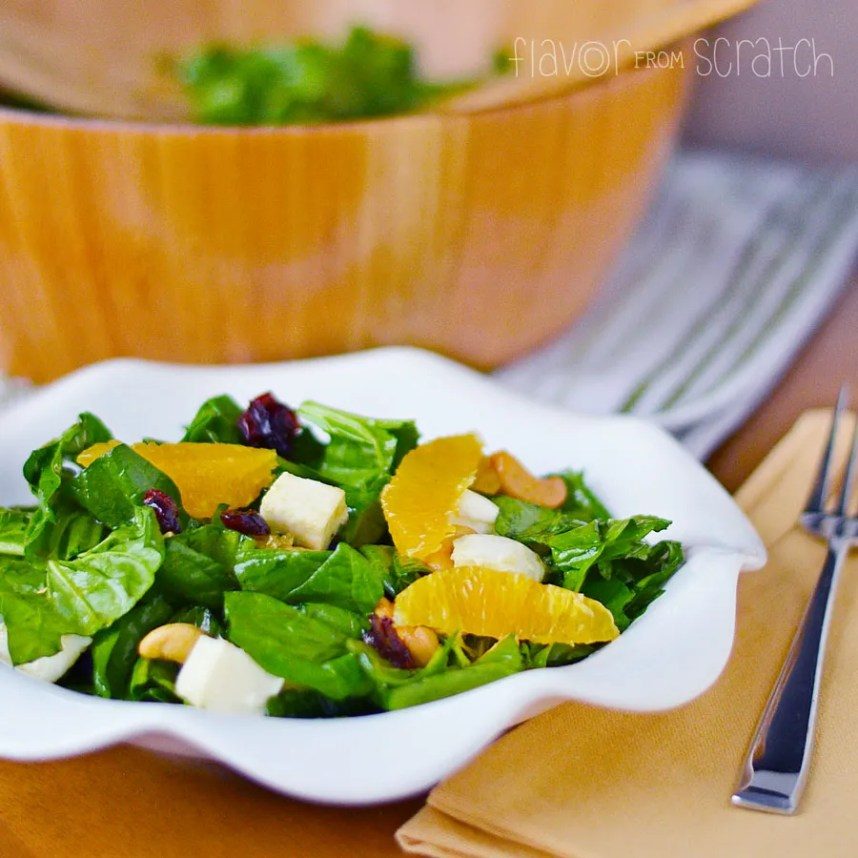Orange Cranberry Cashew Salad