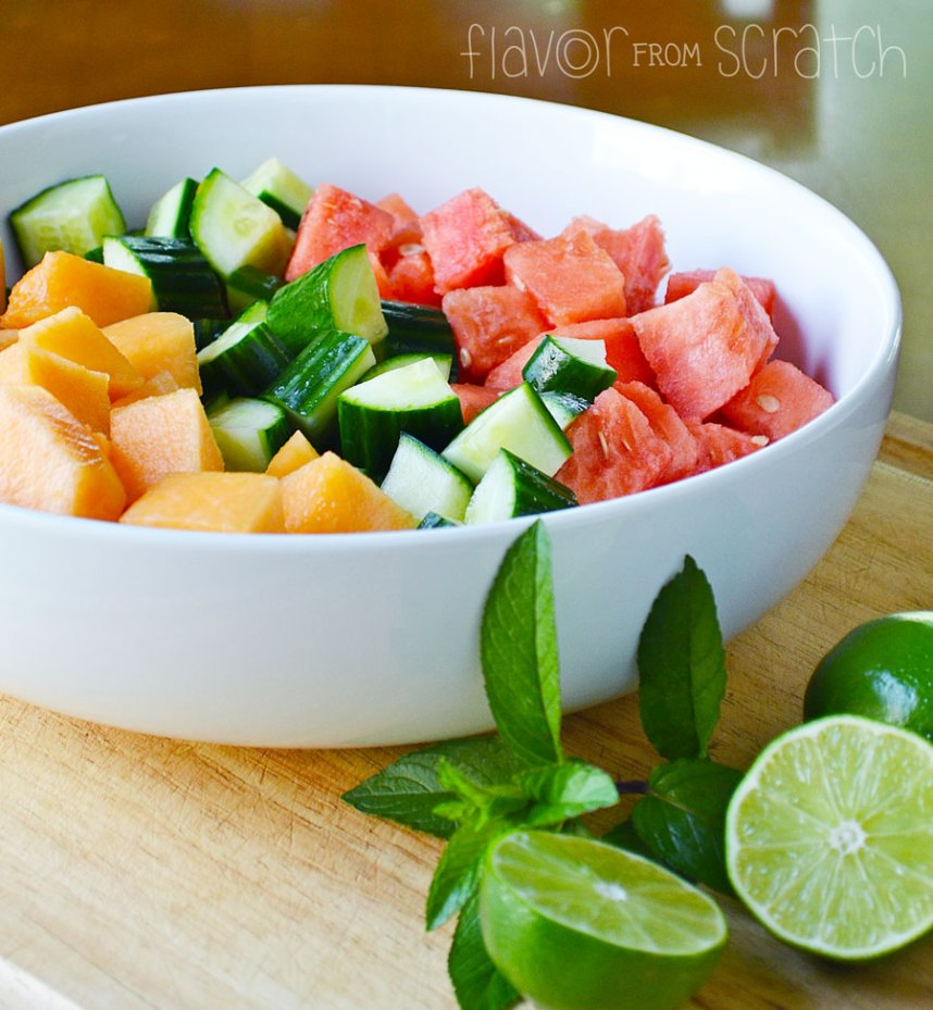 Melon Cucumber Salad