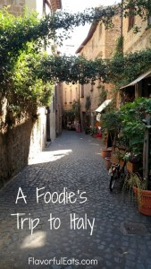 A Foodie's Trip to Italy