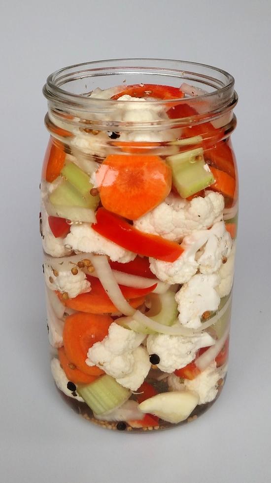 Italian Pickled Vegetables (Giardiniera) - Flavorful Eats Italian Pickled Vegetables