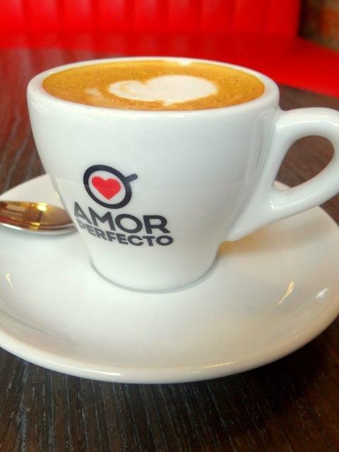 Amor Perfecto Coffee Shop Bogota