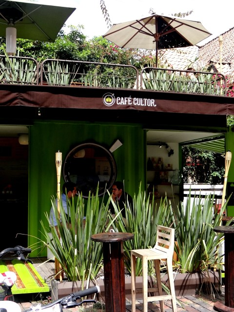 Cafe Cultor Zona G location