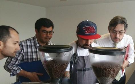 Coffee championship judges