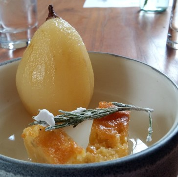 poached-pear-prudencia-restaurant-bogota