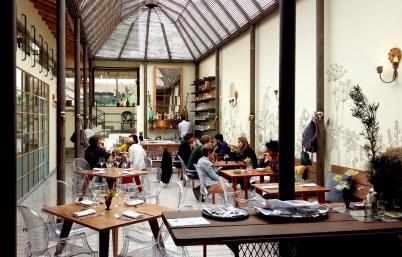 Prudencia restaurant dining area Bogota