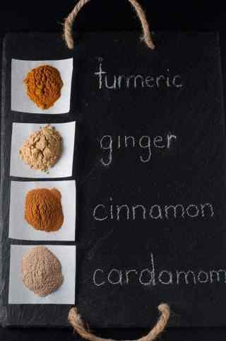 Warm Turmeric Cinnamon Milk, sometimes called Golden Milk