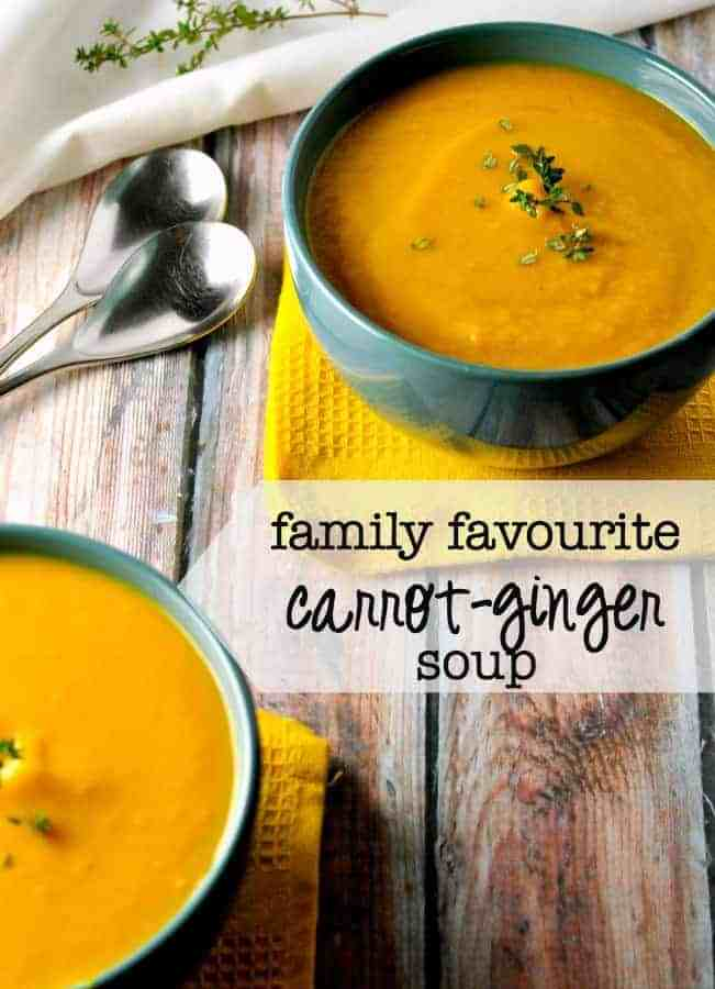 Family Favourite Carrot-Ginger Soup