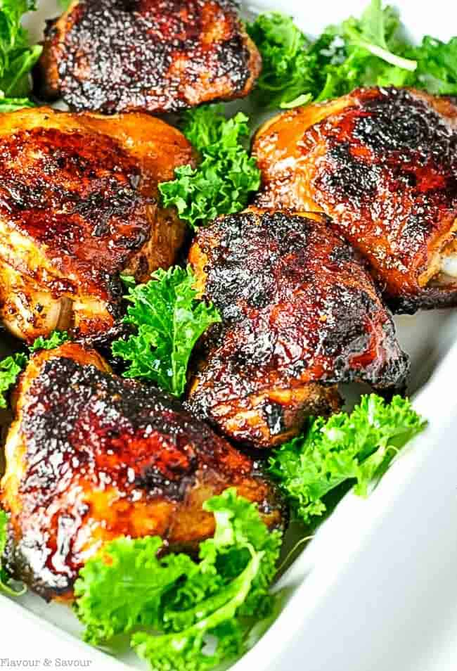Easy Harissa Chicken. Enjoy the exciting flavours of North Africa in this easy-to-make chicken dish. |www.flavourandsavour.com