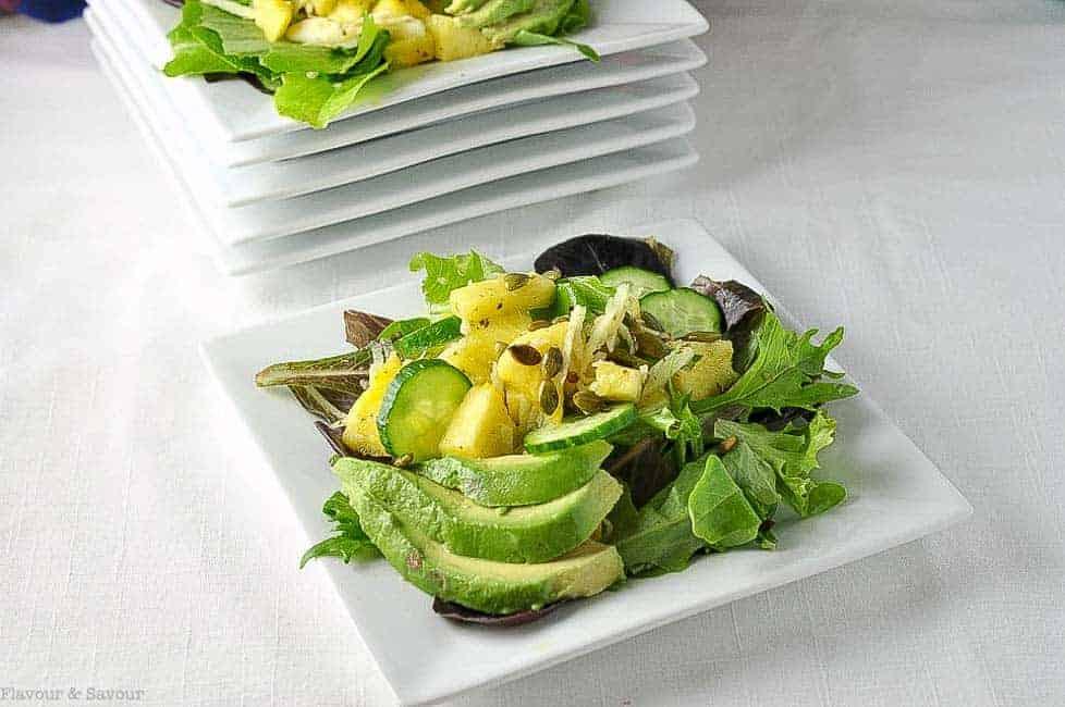 Paleo Pineapple Jicama Salad